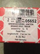 Bremsscheiben Ford Focus