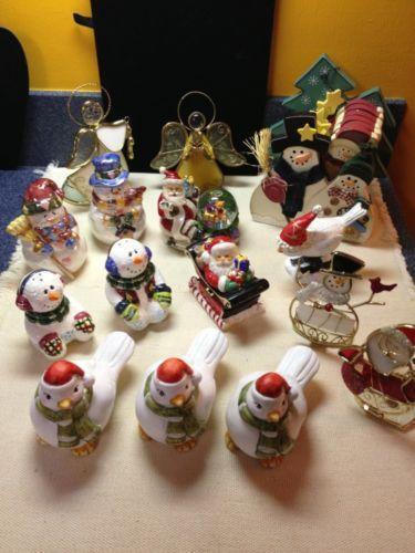 Christmas decorations lot ebay