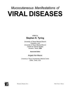 Mucocutaneous Manifestations Of Viral Diseases By Stephen Tyring  Used