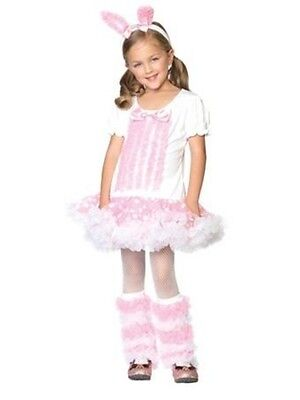ENCHANTED COSTUMES FLUFFY BUNNY HALLOWEEN COSTUME CHILD SIZE EXTRA SMALL (3-4) (Fluffy Bunny Halloween Costume)