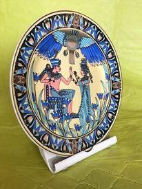Egyptian Design on china plate