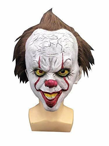 ES Clown Pennywise Maske IT Neuverfilmung Fasching, Karneval & Halloween Party