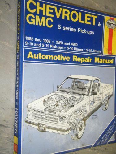 98 S10 repair manual