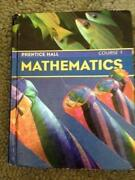 Prentice Hall Mathematics Course 1