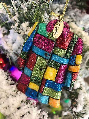 Nib Dolly Parton Coat Of Many Colors Christmas Ornament Dollywood