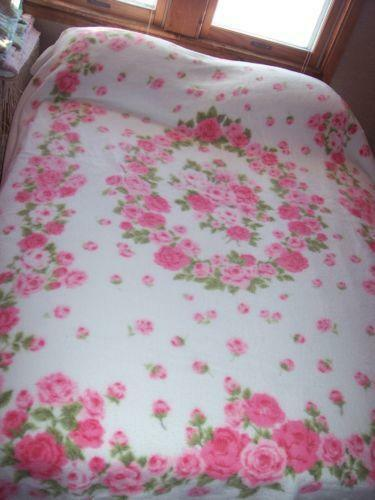 Rose Blanket Ebay