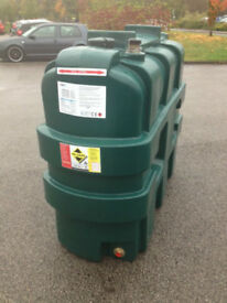 Domestic Heating Oil Storage Tank 1200 litre Single Skin 11mm thick