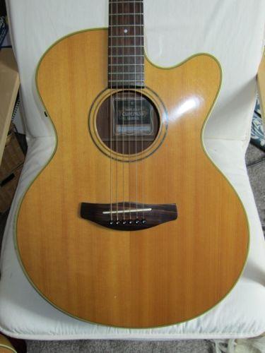 Yamaha electro acoustic guitar ebay for Yamaha acoustic guitar ebay