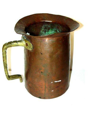 Antique Copper Pitcher Ebay