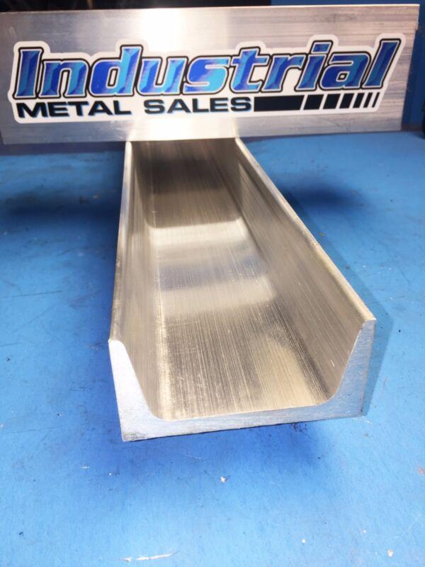"6061 T6 American Standard Aluminum Channel 3"" x .258"" x 1-1/2"" x 12""Long"