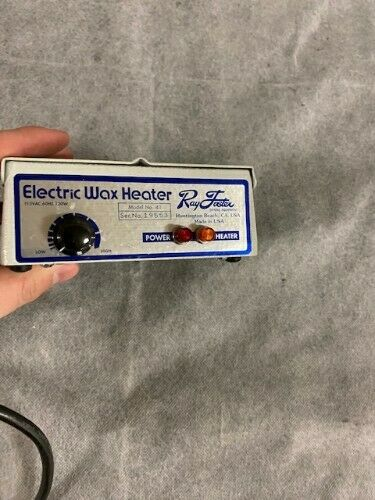 New Ray Foster Model41 Electric Wax Heater - Condition is New