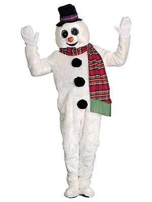 Winter Willy Snowman High Quality Mascot Christmas Holiday Winter Adult - High Quality Adult Costumes