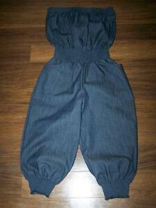 9b2f7a70a893 Denim Capri Jumpsuit