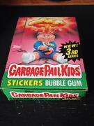Garbage Pail Kids Wax Box