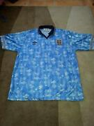 England Football Shirt 1990