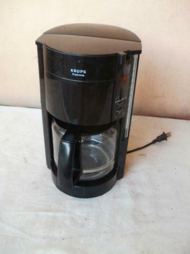 Krups Coffee Makers ~ Krups coffee maker ebay