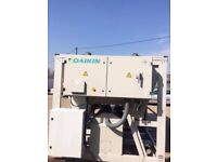 Daikin industrial water chiller 258 kw