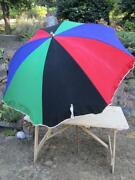 Vintage Beach Umbrella