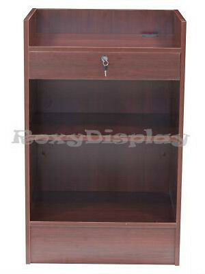 Cherry Cash Register Stand Top Shelf Display Store Fixture Knocked Down Scr-cc