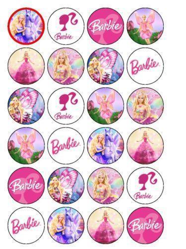 Barbie Edible Cake Toppers Ebay