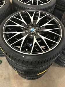 "20"" Brand New Bmw OEM Rims and Pirelli Pzero run flat tires"