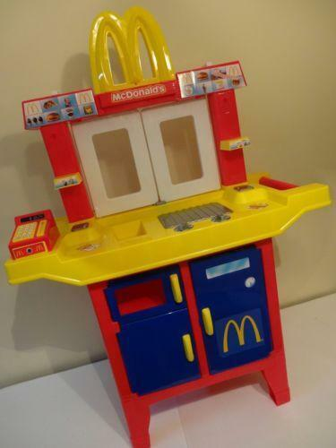 Mcdonalds drive thru ebay for Playskool kitchen set