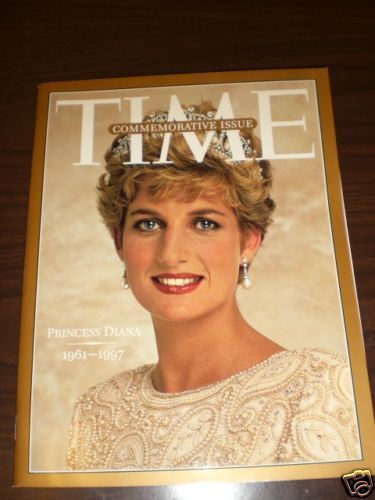 Time Commemorative Issue Princess Diana 1961-1997 N.W.C
