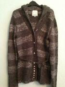 Ladies Long Cardigan Size 12