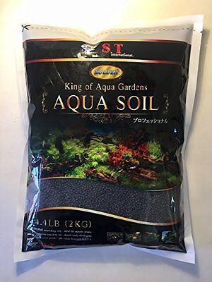 S.T. International Aqua Soil for Aquarium Plants, 4.4-Pound, Black New