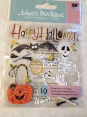 Happy Halloween Jolee's Boutique Stickers Halloween Fall SPJB209