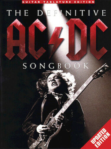 AC/DC GUITAR TAB / TABLATURE / ***BRAND NEW*** /  THE DEFINITIVE AC/DC SONGBOOK