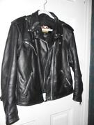 Womens Leather Jacket Size XL