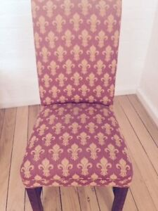 Eight French Provincial Dining Solid High Back Chairs Hampton Bayside Area Preview