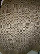 Antique Woven Coverlet