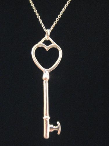 Tiffany Heart Bracelet >> Tiffany Key Pendant | eBay