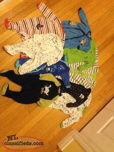 boys 6-12 month pajamas