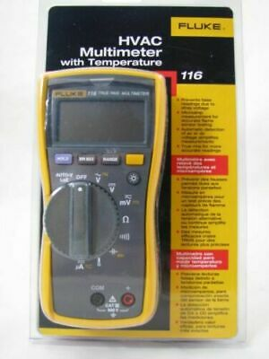 Fluke 116 Digital Hvac Multimeter  New In Box  Msrp 215