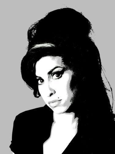 Amy Winehouse Canvas Ebay