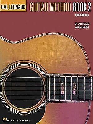 HAL LEONARD GUITAR METHOD MUSIC BOOK 2 INSTRUCTION 26 SONGS BRAND NEW ON