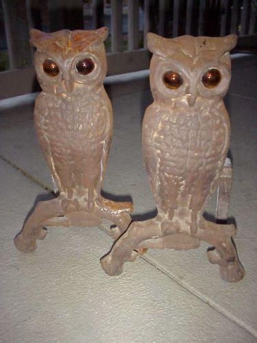Cast Iron Paint >> Antique Cast Iron Owl | eBay