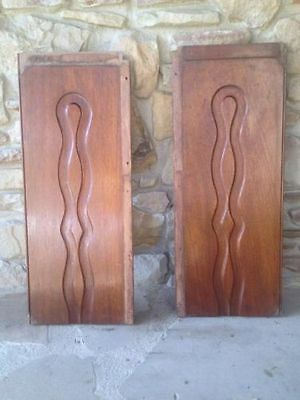 Pair of Antique Vintage Panels/Doors Re purpose Salvaged