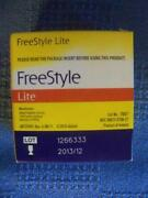 Freestyle Lite Test Strips 100