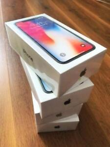 Brand New Sealed Unlocked Apple iPhone X 64Gb Grey in Box !