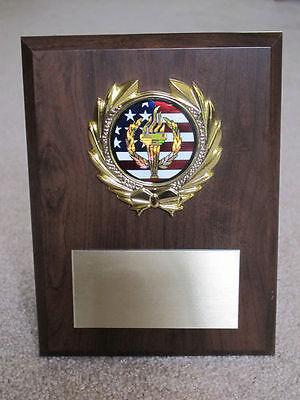 Retirement/Employee/Appreciation Award Plaque 6x8 Trophy FREE custom engraving Appreciation Award Plaque
