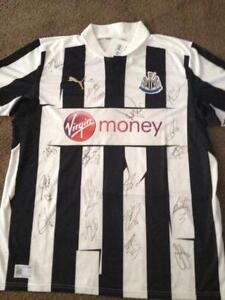 895f652a4 Newcastle United Signed Shirt
