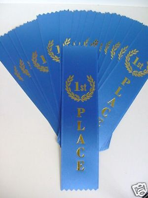 25 ECONOMICAL FIRST 1ST SECOND 2ND THIRD PLACE RIBBONS - First Place Ribbons
