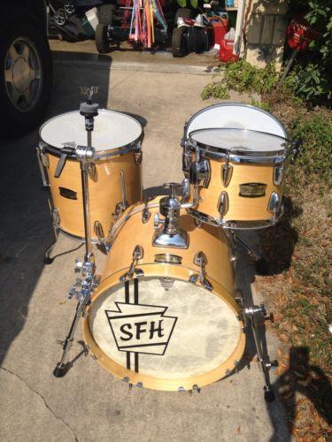 used jazz drum set ebay. Black Bedroom Furniture Sets. Home Design Ideas