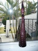 Genie Glass Decanter Bottles