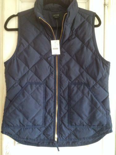 J Crew Excursion Vest | eBay : black quilted vest - Adamdwight.com