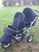 Jane Powertwin Double Pushchair